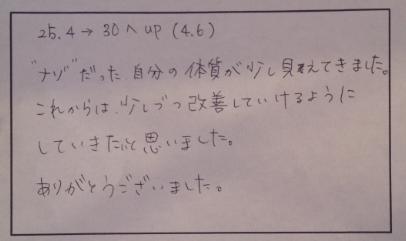 2012/12/9薬膳ランチ会お客様の声