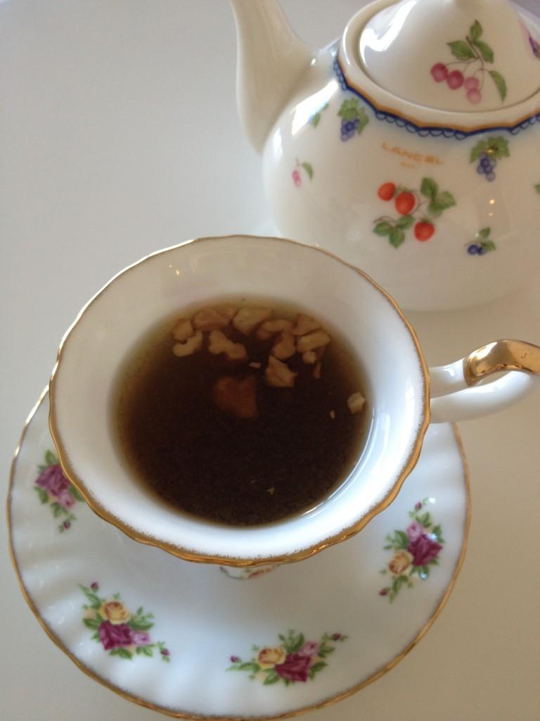 生姜胡桃黒茶(薬膳茶)
