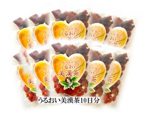 うるおい美漢茶10袋2014