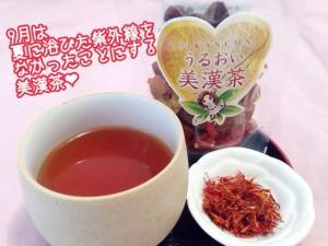 紅花美漢茶