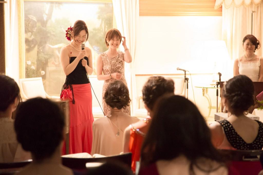 うるおい美漢茶2周年パーティー うるおい美人ファンスピーチ 樋口智香子さん
