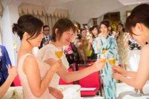 うるおい美漢茶2周年パーティー