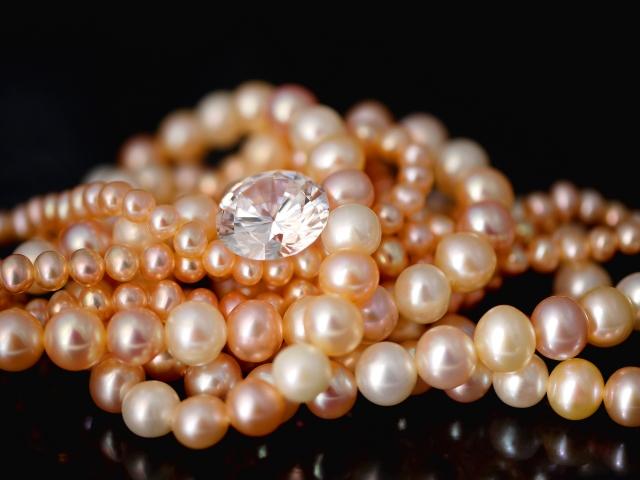 真珠ダイヤモンドパール