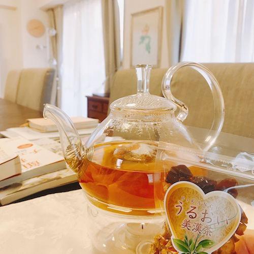 うるおい美漢茶,お茶会