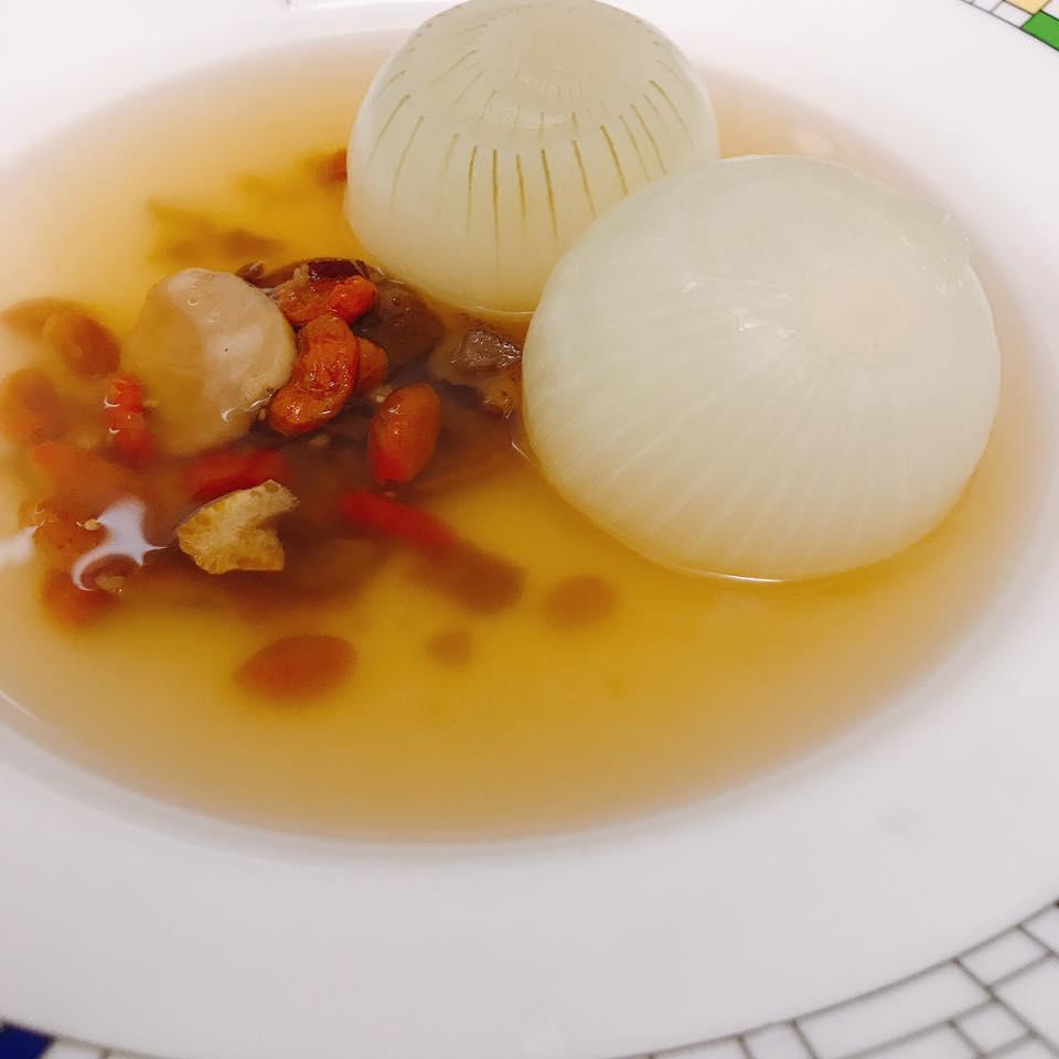 コンソメ美漢茶スープ