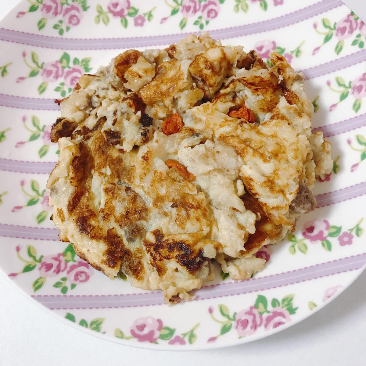 美漢茶リメイクレシピパンケーキ