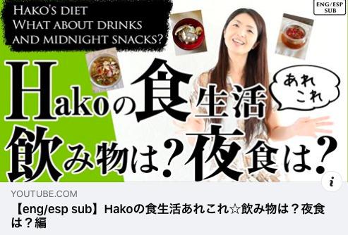 HAKOさんYouTube